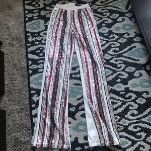 Pretty little thing high waisted sequin pants